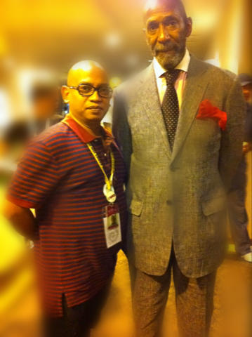 Me and the legendary Ron Carter