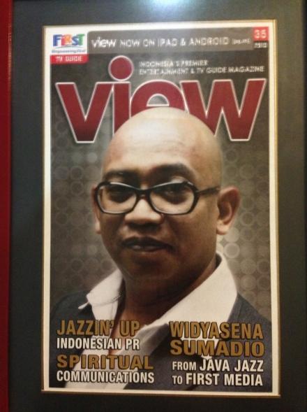 Terpajang Di Majalah VIEW