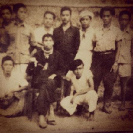 Jenderal Besar Soedirman beserta 7 pengawal inti